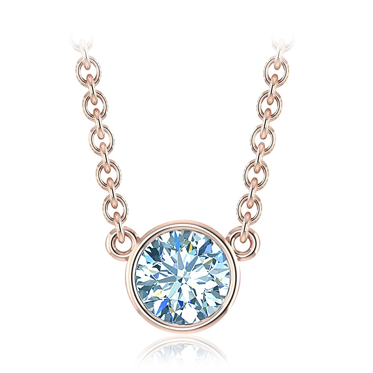 Venatici Diamond Necklace (1 CT. TW.)