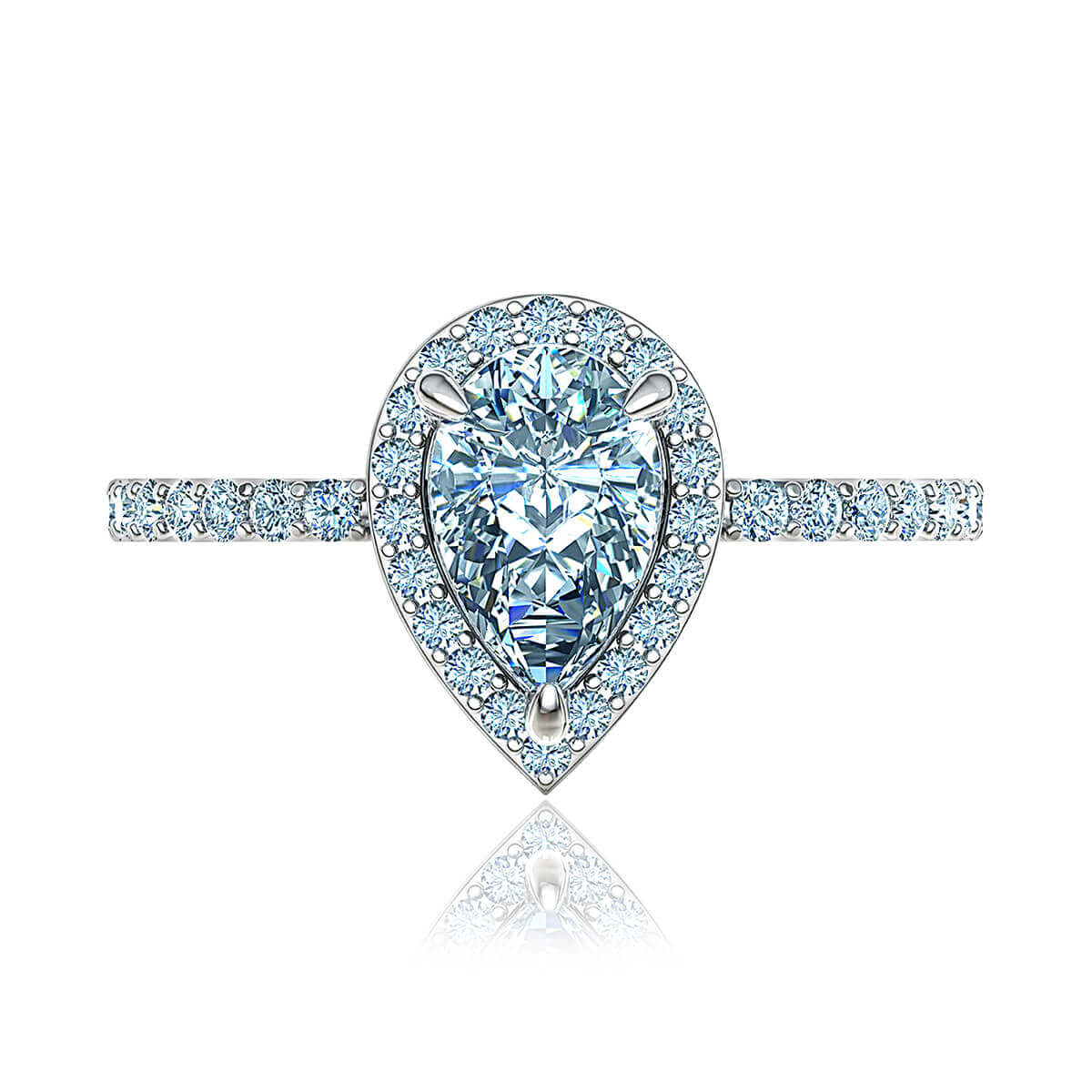 Abirose Moissanite Ring