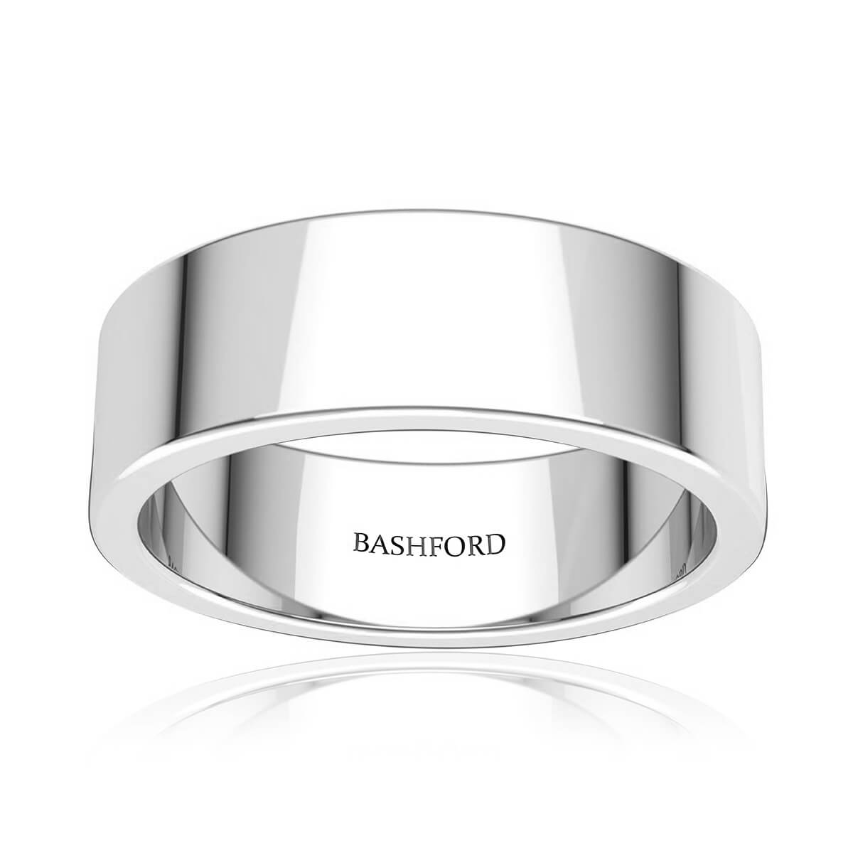 Glacier Wedding Band (7 mm)