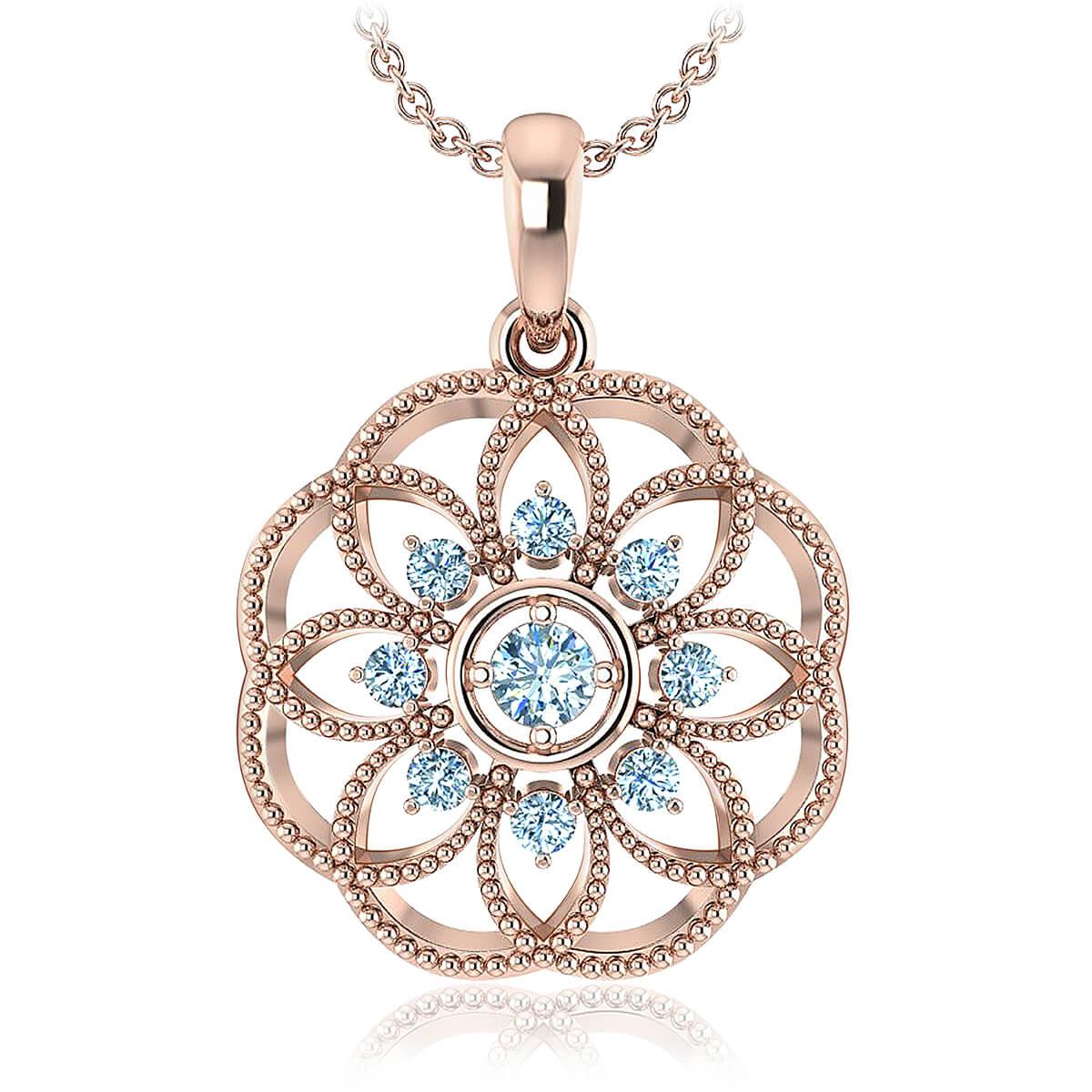 Marseilles Diamond Necklace (1/5 CT. TW.)