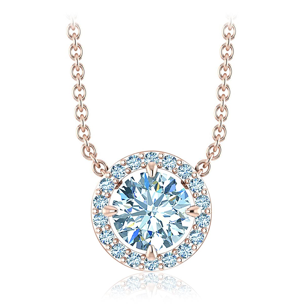 Honesty Diamond Necklace (1/2 CT. TW.)