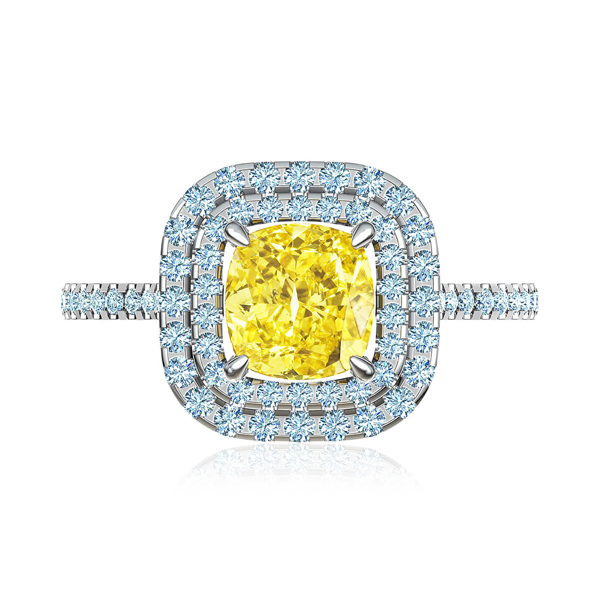 Marilou Moissanite Ring