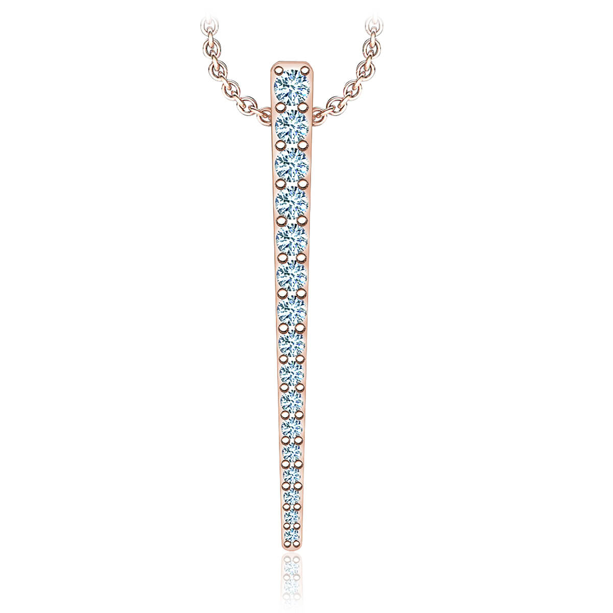 Piarosa Diamond Necklace (1/4 CTW)