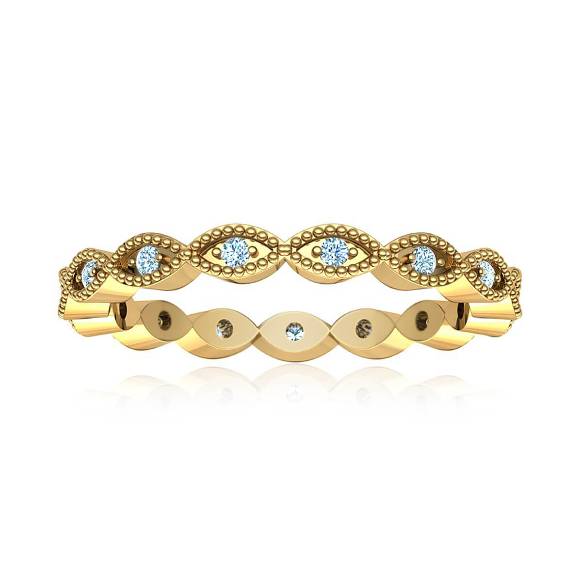 Empress Eternity Diamond Ring (1/4 CT. TW.)