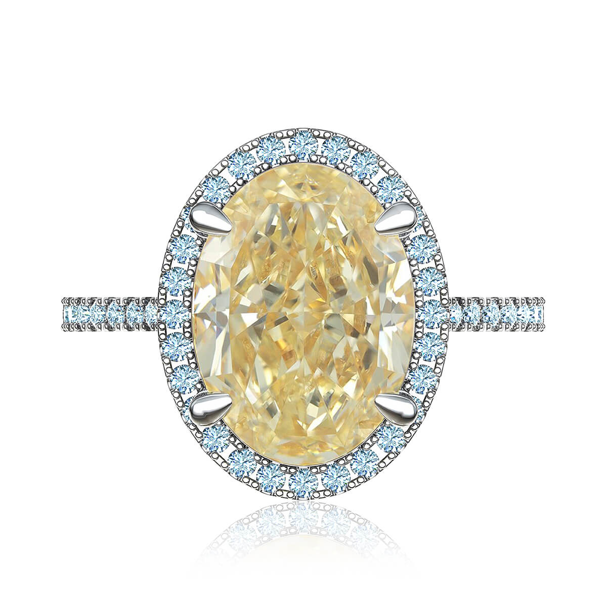 Queen Constance Diamond Ring