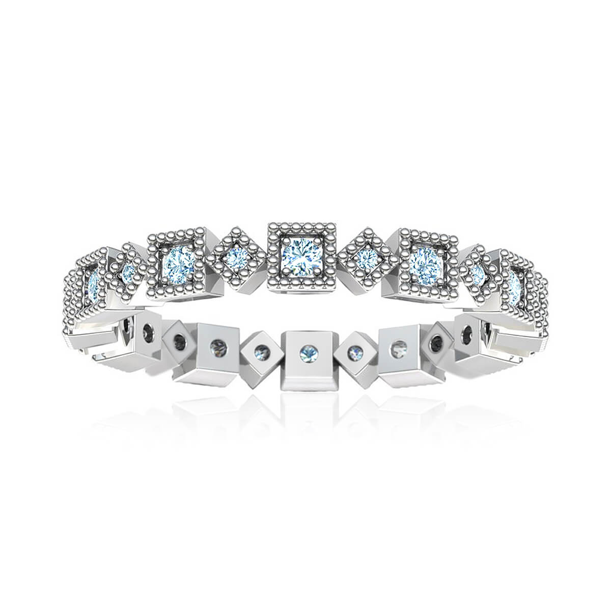 Prima Donna Eternity Diamond Ring (3/8 CT. TW.)