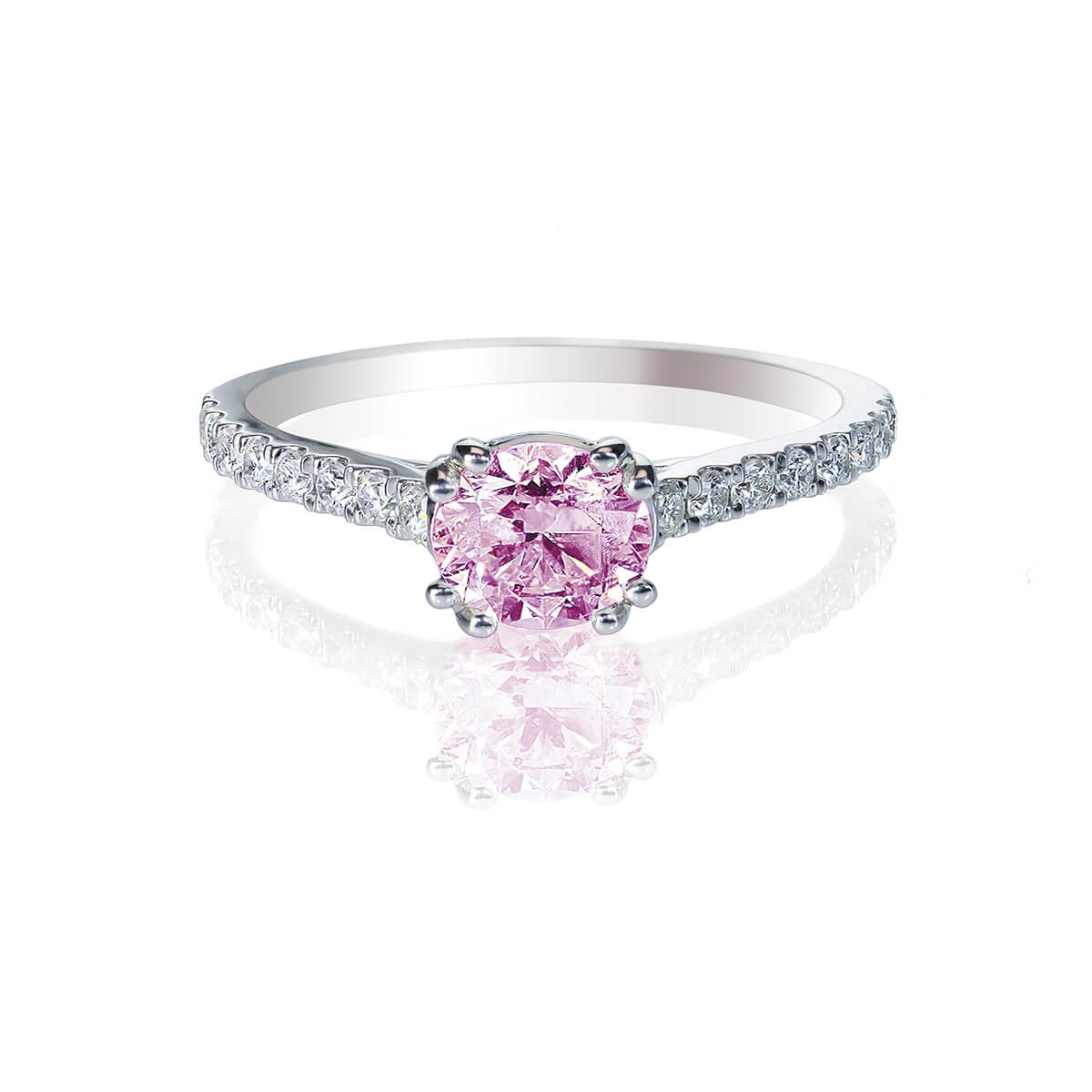 Estela Pink Diamond Ring