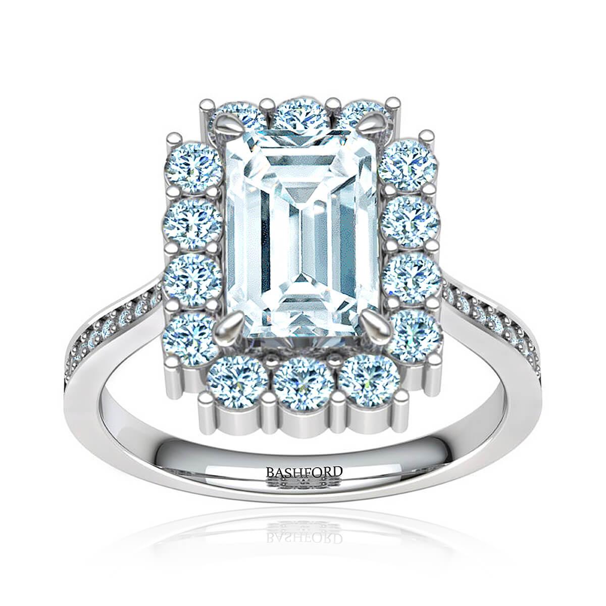 Sakura Emerald Ring