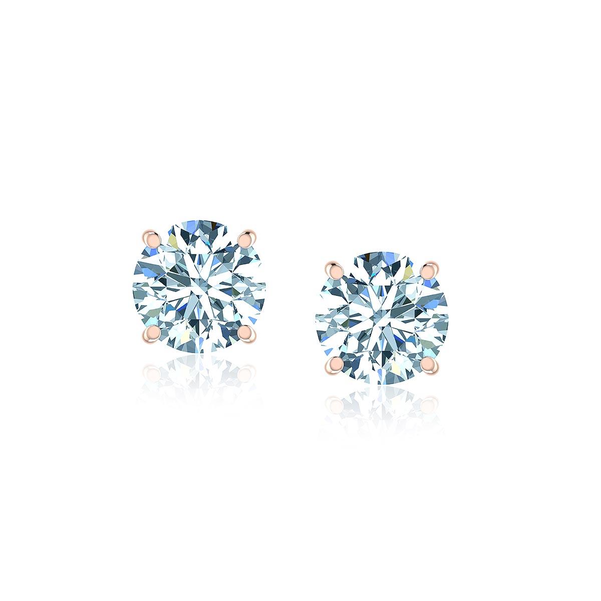 Tucana Diamond Earrings (1 CT. TW.)