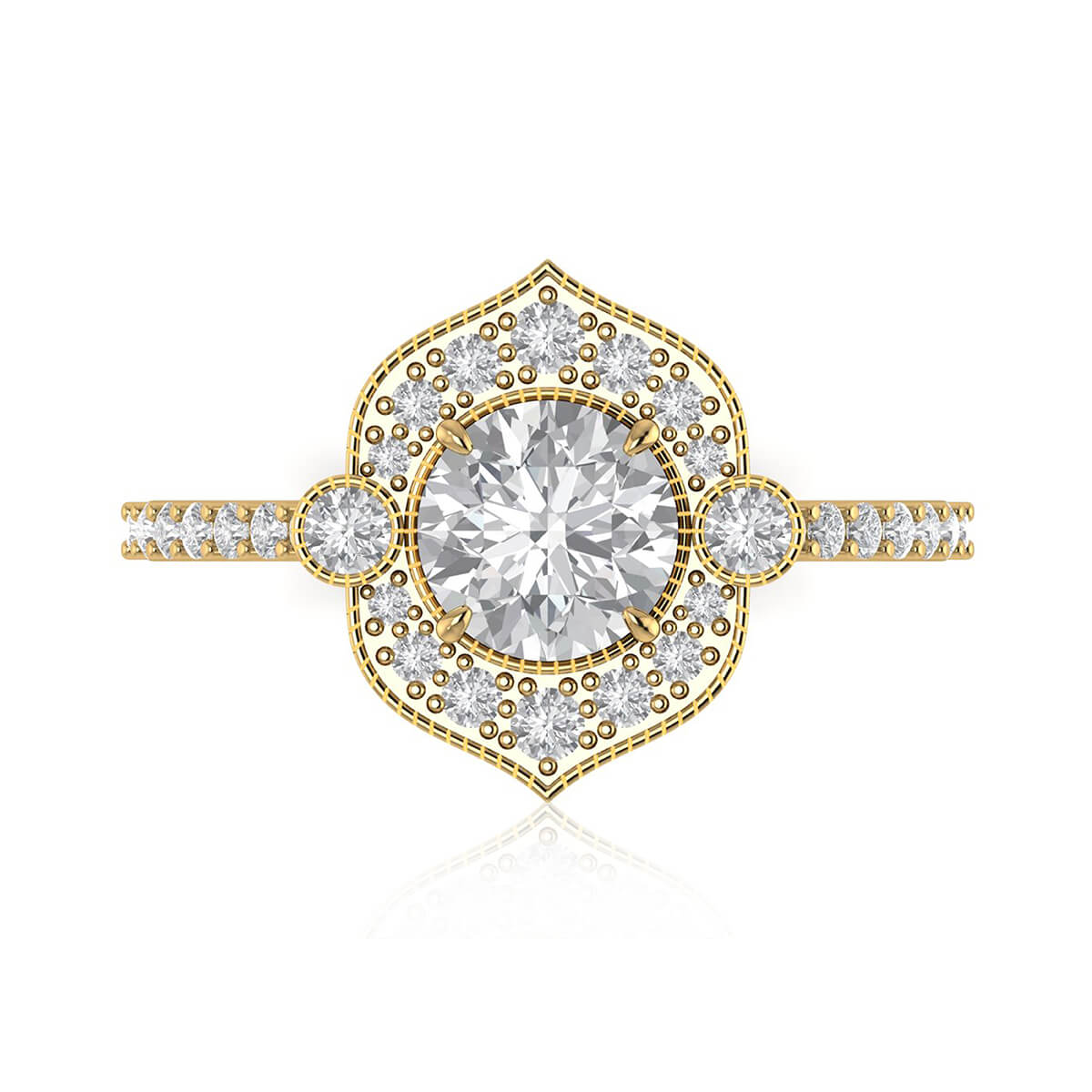 The Power of Love Diamond Ring