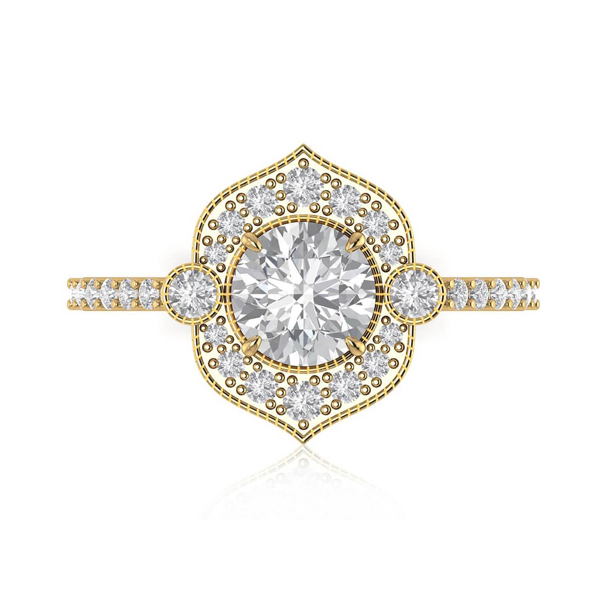 The Power of Love Diamond Ring
