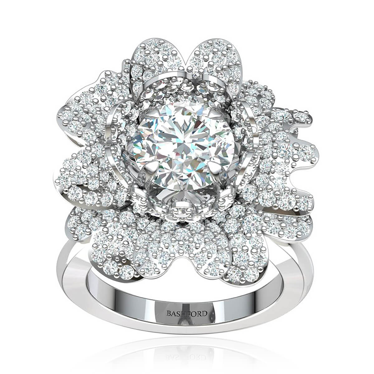 The Daisy Diamond Ring